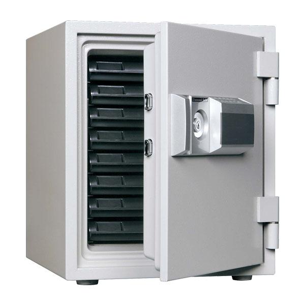 『ポイント5倍』 生興 耐火金庫 小型金庫 プッシュボタンタイプ W435×D503×H529 MEK52-8『代引不可』『別途 搬入設置費必須』