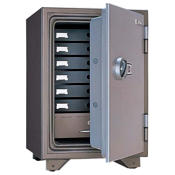 生興 耐火金庫 小型金庫 マグネットロック式 W475×D521×H697 KMX-50MA【別途 搬入設置費必須】【代引不可】