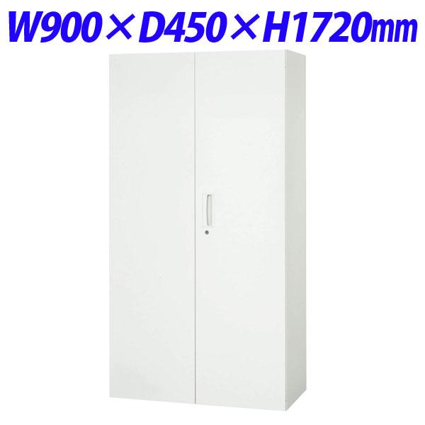 豊富なバリエーションを揃え 使いやすさと安全性 耐震性を考慮したシステム収納家具 ポイント5倍 25%OFF ライオン事務器 デリカウォール 現品 Vシリーズ 両開型 ホワイト W900×D450×H1720mm 代引不可 V945-18H 下置専用 305-07