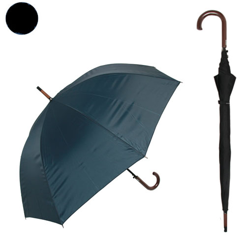 男性向け 70cm大きめサイズ 70cm ブラック 毎日激安特売で 営業中です 紳士無地傘 贈物