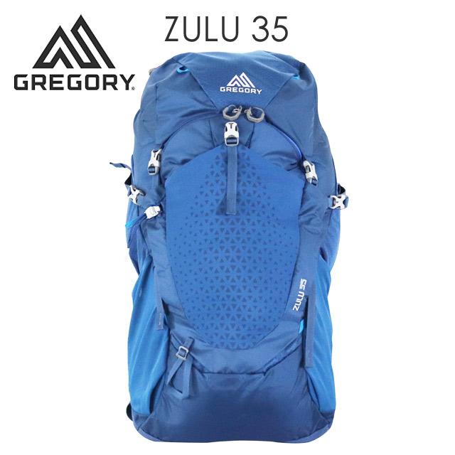 GREGORY グレゴリー ZULU35 ズール 35L M/L エンパイアブルー EMPIRE BLUE 1115837411 バックパック リュックサック 【送料無料(一部地域除く)】