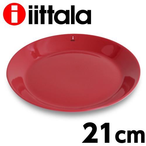 北欧食器 イッタラ iittala 在庫一掃 ティーマ レッド 入手困難 Teema プレート 21cm