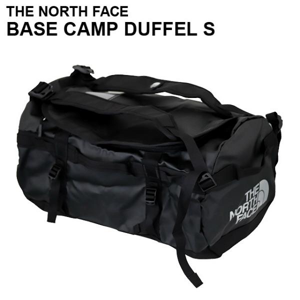 THE NORTH FACE ザ・ノースフェイス BASE CAMP DUFFEL S ベースキャンプダッフル 50L ブラック ボストンバッグ ダッフルバッグ バックパック