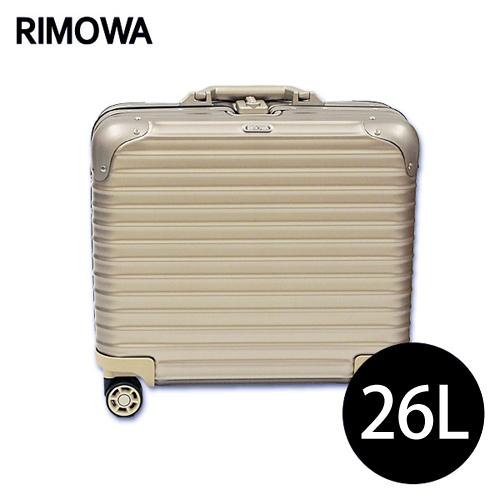 リモワ RIMOWA トパーズ チタニウム 29L TOPAS TITANIUM マルチホイール スーツケース 923.40.03.4【送料無料(一部地域除く)】