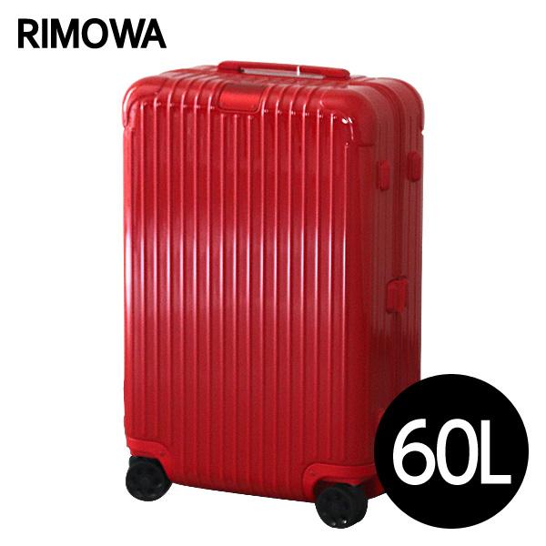 リモワ RIMOWA エッセンシャル チェックインM 60L グロスレッド ESSENTIAL Check-In M スーツケース 832.63.65.4『送料無料(一部地域除く)』