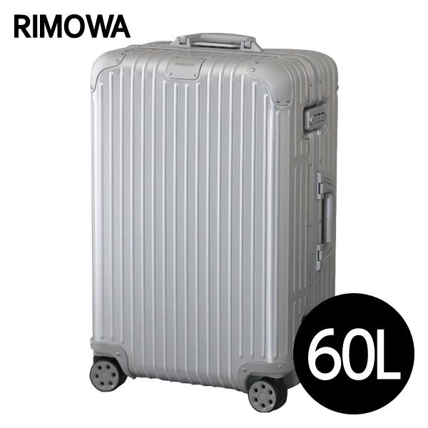 『期間限定ポイント10倍』リモワ RIMOWA オリジナル チェックインM 60L シルバー ORIGINAL Check-In M スーツケース 925.63.00.4『送料無料(一部地域除く)』