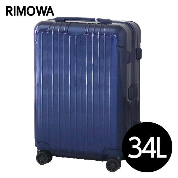 『期間限定ポイント10倍』リモワ RIMOWA エッセンシャル キャビンS 34L グロスブルー ESSENTIAL Cabin S スーツケース 832.52.60.4『送料無料(一部地域除く)』