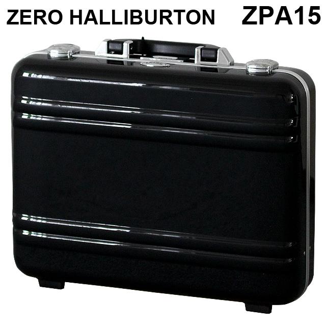 ゼロハリバートン ZERO HALLIBURTON クラシック ポリカーボネート アタッシュケース フレームタイプ ラージ ブラック B4対応 80635 ZPA15-BK 【送料無料(一部地域除く)】