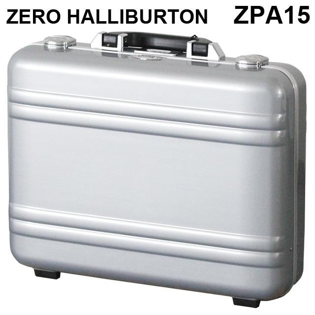 ゼロハリバートン ZERO HALLIBURTON クラシック ポリカーボネート アタッシュケース フレームタイプ ラージ シルバー B4対応 80635 ZPA15-SI『送料無料(一部地域除く)』