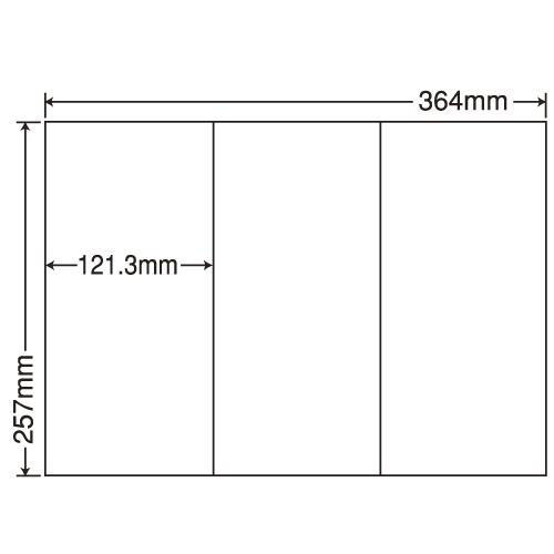 ラベルシール 東洋印刷 E3GF 再剥離タイプ B4 100シート×5箱【代引不可】