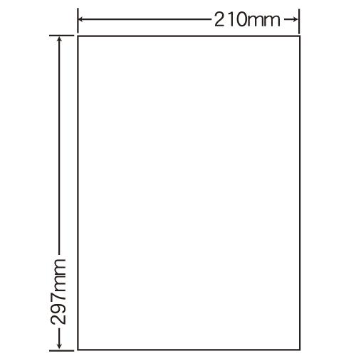 ラベルシール 東洋印刷 SCJ-7 カラーインクジェット用光沢ラベル A4 1箱400シート【代引不可】