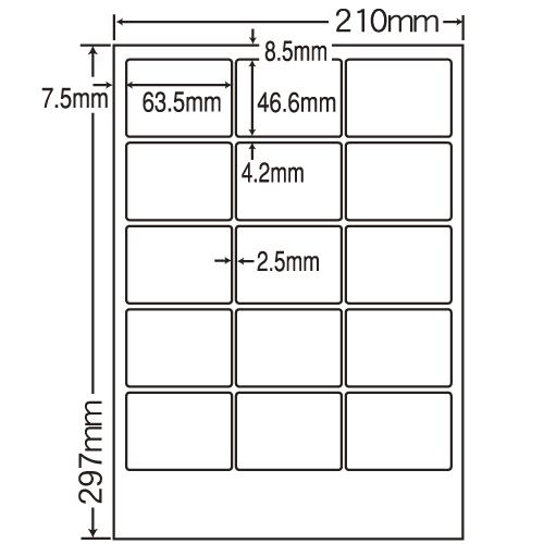 ラベルシール 東洋印刷 SCL-3 カラーレーザー用光沢 A4 400シート【代引不可】