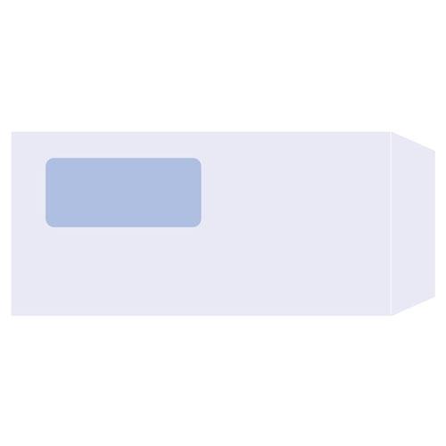 ピーシーエー PA1371F 窓付き封筒(A4 3面単票用) 単票 【旧品番:PA1371】【代引不可】