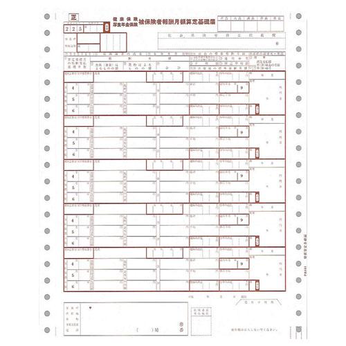 ピーシーエー PB141F 月額算定基礎届 連続 【旧品番:PB141】