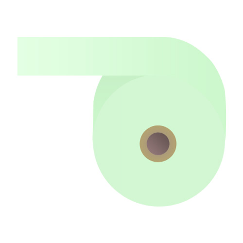 カラー感熱紙ロール 【60mm×48mm×12mm】ブルー 100巻 RS6048BB【代引不可】