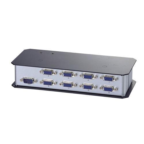 【ELECOM】ディスプレイ分配機 8分配 VSP-A8 ※代引不可