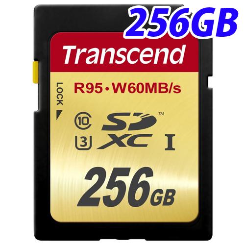 トランセンド SDXCカード TS256GSDU3 256GB