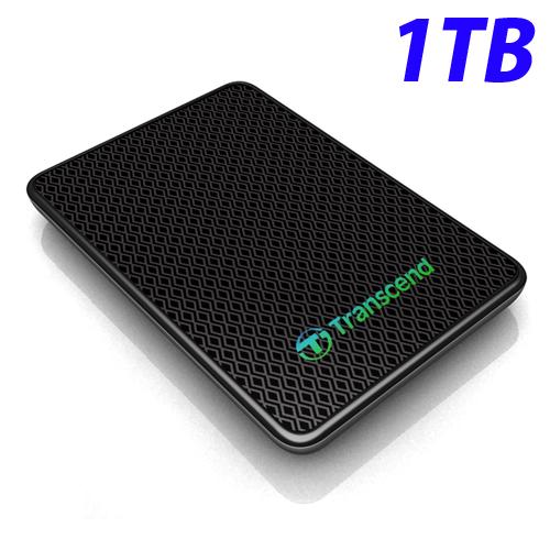 【売切れ御免】TS1TESD400K トランセンド 外付けSSD 1TB USB3.0