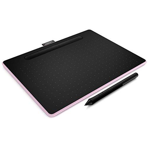 【取寄品】ワコム ペンタブレット Intuos Medium ワイヤレス ベリーピンク CTL-6100WL/P0 ペンタブ 液晶ペンタブレット