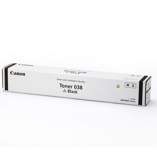 Canon トナーカートリッジ 038 BK ブラック 純正品 37000枚【代引不可】