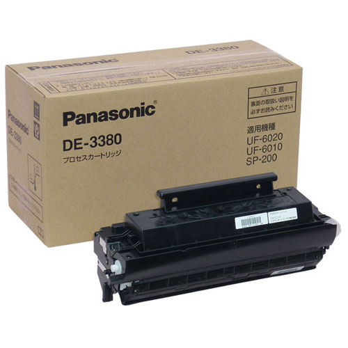 パナソニック DE-3380 プロセスカートリッジ 純正品 4500枚【代引不可】
