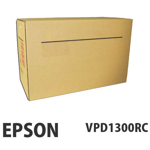 EPSON VPD1300RC リボンカートリッジ 黒 1セット(6本)【代引不可】