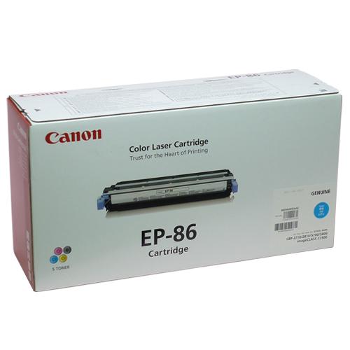 EP-86 シアン 純正品 Canon キヤノン【代引不可】