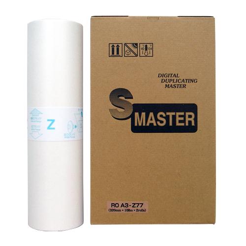 軽印刷機対応マスター ROA3-Z77 2本セット 汎用品※代引不可