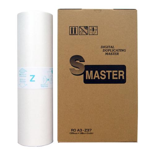 軽印刷機対応マスター ROA3-Z37 2本セット 汎用品※代引不可