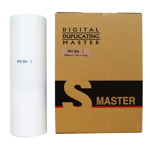 軽印刷機対応マスター RHB4-I 2本セット 汎用品※代引不可