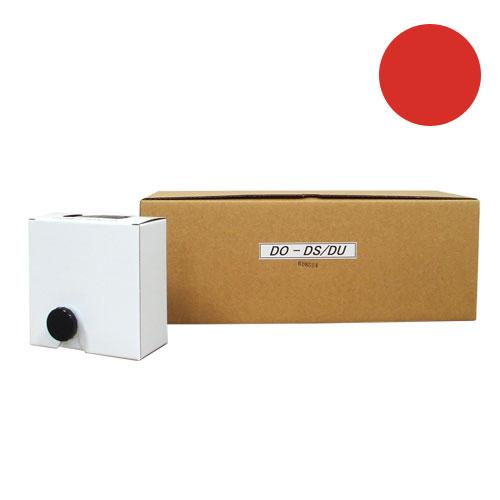 DO-DS/DU 軽印刷機対応インク 赤 汎用品※代引不可 12本セット