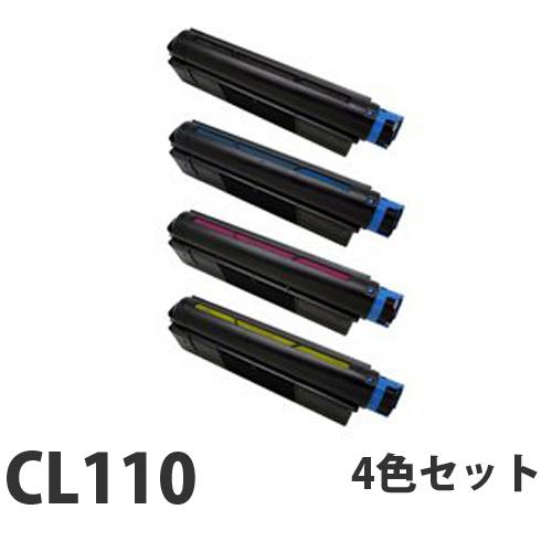 富士通 CL110 リサイクル トナーカートリッジ 4色セット