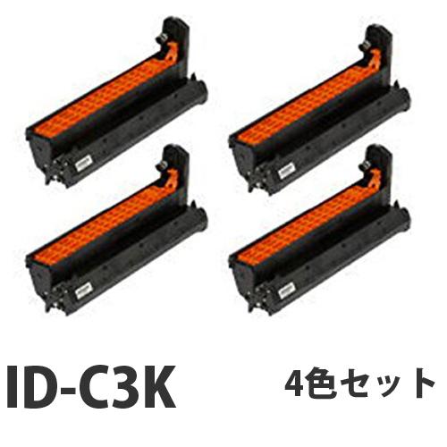 OKI ID-C3K リサイクル トナーカートリッジ 4色セット