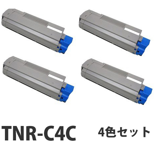 OKI TNR-C4C リサイクル トナーカートリッジ 4色セット