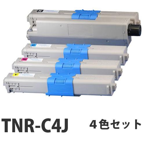 OKI TNR-C4J リサイクル トナーカートリッジ 4色セット