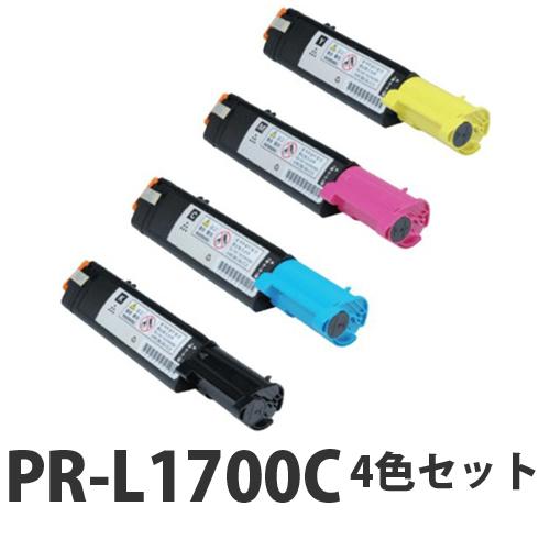 NEC PR-L1700C リサイクル トナーカートリッジ 4色セット