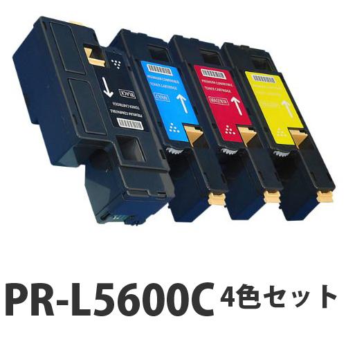 NEC PR-L5600C リサイクル トナーカートリッジ 4色セット