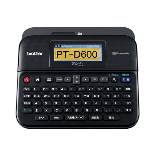 【代引不可】ブラザー ラベルライター ピータッチ P-touch PT-D600