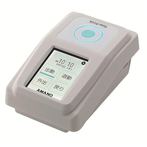 アマノ TP@C-800IC タイムレコーダー TimePCK-IC4CL 本体 勤怠管理 【代引不可】