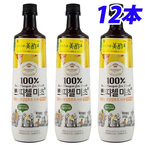 CJジャパン 美酢 パイナップル味 900ml×12本