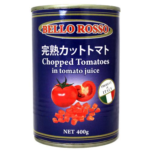 BELLO ROSSO カットトマト缶 400g×3缶