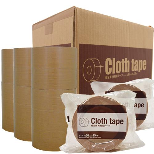 信頼の国産品 中~重梱包にまで幅広く使える GRATES 布粘着テープ 厚さ0.23mm 幅50mm×長さ25m 30巻 公式 梱包材 梱包資材 期間限定で特別価格 梱包用テープ 送料無料 梱包テープ 一部地域除く 粘着テープ
