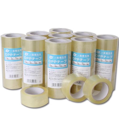 OPPテープ 厚さ0.05mm 48mm×100M 150巻 透明梱包用テープ キラットオリジナル