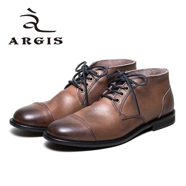 レビューを書いて靴磨きクロスをプレゼント ARGIS アルジス 12103 ブーツ 革靴 メンズ カジュアル 定価 本革 日本製 セメント製法 レースアップ チャッカブーツ 国内在庫 革紐 チャッカ グレー 合成底 おしゃれ ショートブーツ 店頭受取対応商品