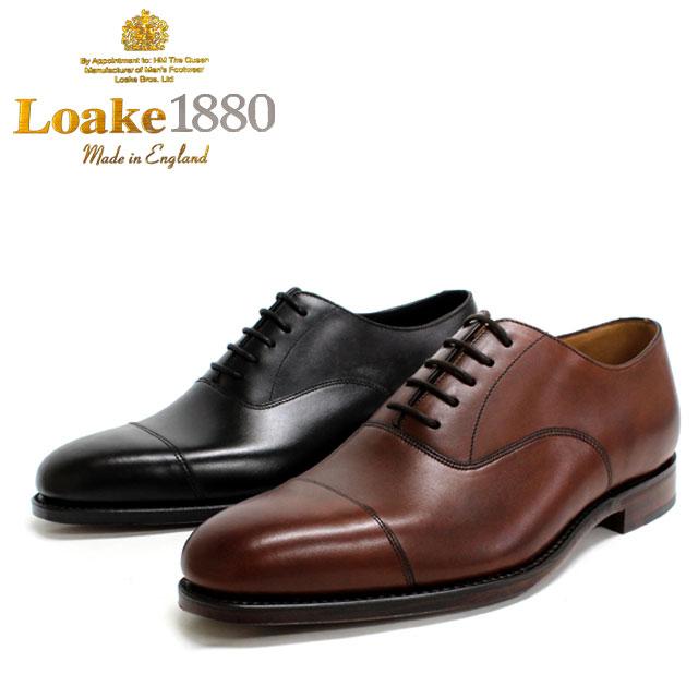 LOAKE ロークALDWYCH 内羽根 ストレート 5穴本革 革靴 靴 メンズ レザーソール 【全2色】【店頭受取対応商品】