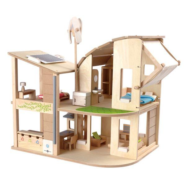PLANTOYS (プラントイ) グリーンドールハウス 木のおもちゃ 木製玩具 幼児 子ども 木製 プレゼント ギフト 誕生日 【店頭受取対応商品】