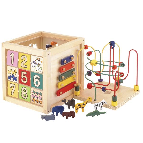 (名入れOK) Ed.Inter(エド・インター) 森のあそび箱 木のおもちゃ 木製玩具 幼児 子ども 木製 プレゼント ギフト 誕生日  【店頭受取対応商品】