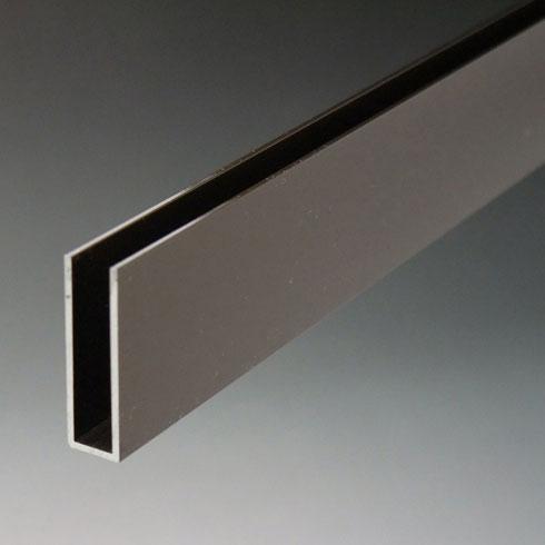 アルミ材 アルミ型材 のC型チャンネルを販売 開店記念セール Cチャンネルは幅広い規格 寸法 サイズを取り揃え 定番の人気シリーズPOINT ポイント 入荷 7x10x1820mm アルミ破損止 建材やDIYにも最適です ブロンズ