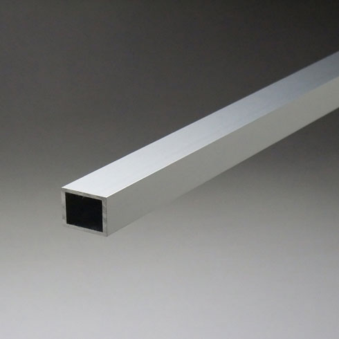 アルミ平角パイプ 2.5x30x100x5000mm(4M+1M) 生地(表面処理なし) 【※サービスカット対応商品です】