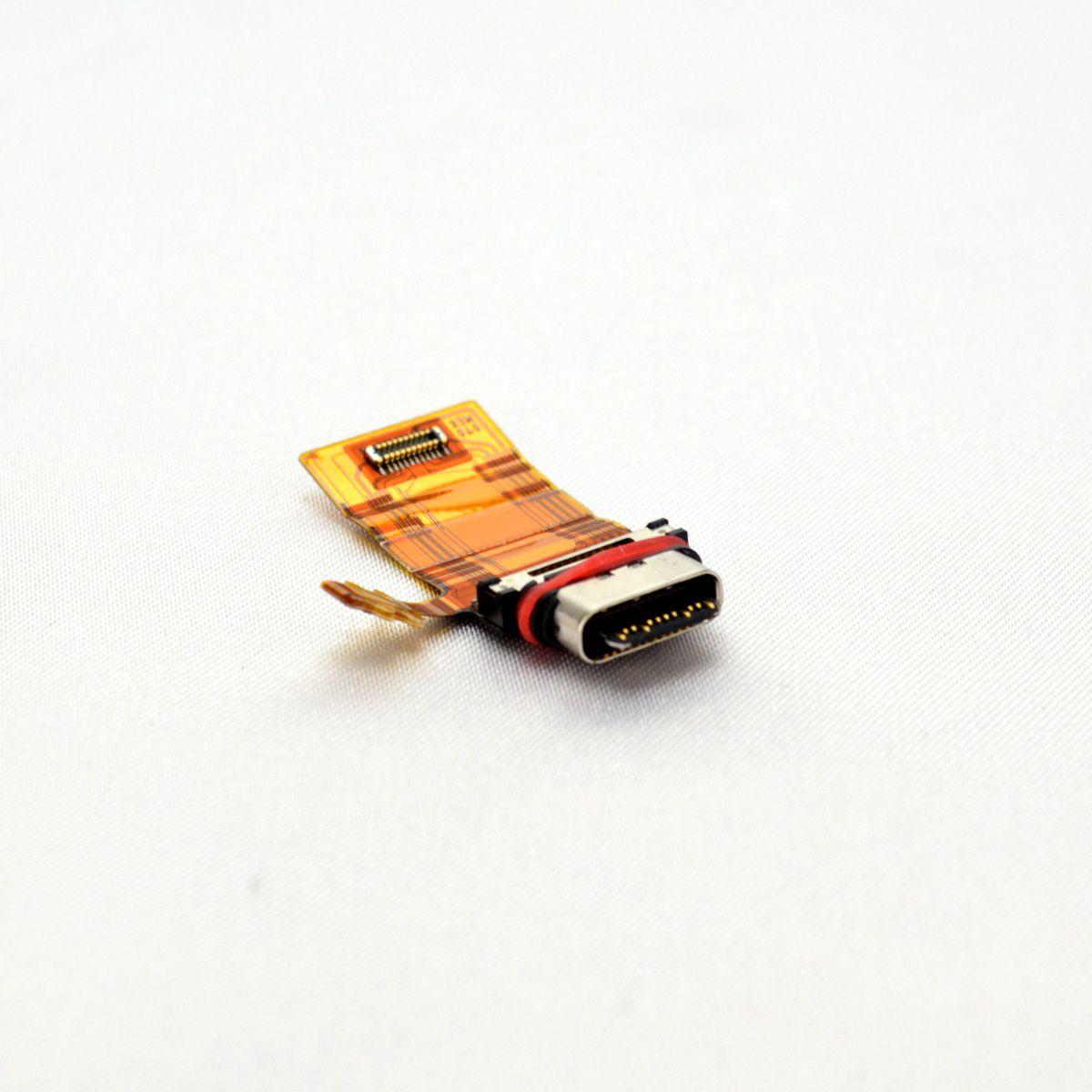 【SONY Xperia XZ1】ドックコネクター エクスぺリア Type-C USB充電口交換用パーツ【SO-01K SOV36】【メール便なら送料無料】